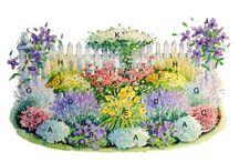 kvitnúce záhony