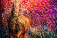 Horse Paintings / Pretty horse paintings