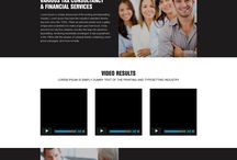 responsive tax landing pages