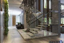 Stairway to heaven: лестницы в наших проектах / Мы всегда уделяем много внимания лестницам не только с эстетической точки зрения, но и с практической.