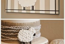 Baby shower Theme ~sheep / Sheep
