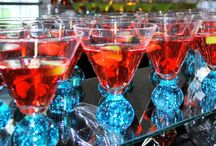 Martini Bar / Our famous Martini Bar/Station that we create for your special event.