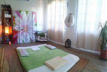 Shiatsu / atmosfere rilassanti per la stanza trattamenti