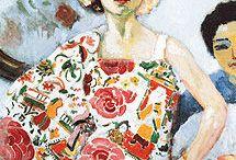 Inspiration   Femme / Retrouvez les plus beaux portraits de femmes à travers les époques et les courants artistiques.  #artprint #muzéo #muzéoparis #peinture #histoire #history #painting #femme #women #portrait #artist #féminité #douceur #visage #portraitfemme