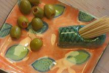 Petisqueiras em Cerâmica