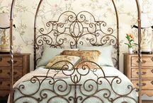 Shabby romántico - Romantic shabby decor / Ambientes y detalles de estilo shabby. Shabby style spaces and decoration details