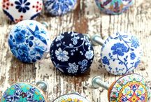 painted drawer knobs