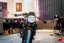 CB500F Cafe Racer / Primeira transformação Cafe Racer em uma CB500F 2014 de Belo Horizonte foi feita aqui na Oficina dos Tons. 66 dias de trabalho para criar e desenvolver o visual dessa moto, produzindo peças únicas e exclusivas e mantendo as tecnologias que ela oferece.