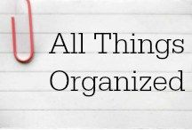 All Things Organized / This board is for sharing anything and everything related to organization. Please keep pins on the topic of organization (unrelated pins will be deleted). ***This group is no longer accepting contributors.***