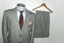 Vintage Tweed Suit