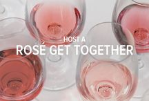 Host a Rosé Get Together / The sun is shining, the trees and flowers are in full-bloom… this time of year pairs perfectly with the pink-hues of rosé. This versatile wine complements a wide variety of dishes from grilled foods to desserts, making it perfect for a menu bursting with fresh flavours and one that signals the start of barbecue season.
