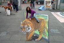 Photos trompe l'oeil-Street Art