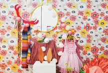 Wallpaper in kids room