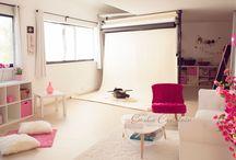 My studio / Studio photography