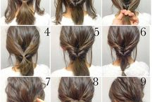 Wedding party hairstyle