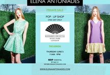 POP UP SHOP- ELENA ANTONIADES SALE EVENT / Join us and indulge yourself in an afternoon of amazing fashion and friends! Mandarin Oriental Hotel 66 Knightsbridge, London, SW1X 7LA The Loggia (by the Garden Terrace) 11AM - 9PM Receive up to 50% off on the SS14 and up to 80% off on Previous Collections  RSVP essential by JUNE 3 info@elenaantoniades.com
