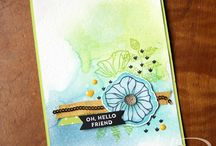 Oh So Eclectic / Stampin' Up! Oh So Eclectic Stamp Set, Eclectic Layers Thinlits Dies