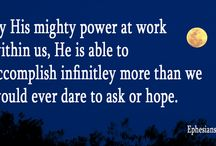 Quotes. Think about these things . . . / Hope and truth that will encourage and meet your every need.