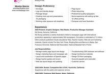 Resume | Curriculum Vitae examples