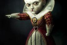 Alice in W: Queen of hart / Alice in wonderland; Queen of hart (red queen)