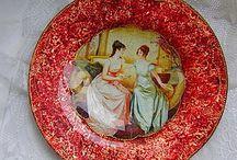 декор тарелок