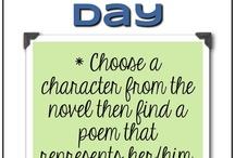 poem in your pocket day / by Kristen Sanchez