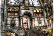 Train Stations / Amazing architecture and decor  of train stations around the world.