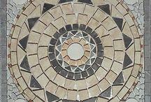 Terrace mosaic