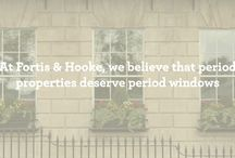 Sash Window Replacement / At Fortis & Hooke we prefer not to replace original sashes and therefore our replacement service is only offered when absolutely necessary.  We replicate any design allowing our clients to retain the original architectural feel of their homes