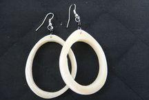 Boucles d'oreille eco-responsables - éthiques / Boucles réalisées à la main avec des métaux recyclés