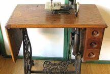 Wilcox & Gibbs Sewing Machine.... / by Lexie Galea