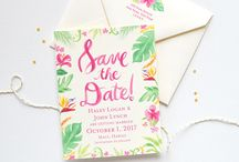 Invites/save the dates