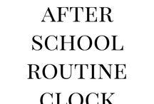 relógio de rotinas