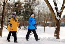 Zima w Ciechocinku / Ciechocinek jest piękny o każdej porze roku, również zimą. Chętni bez trudu znajdą tutaj miejsce do aktywnego wyypoczynku lub relaksu