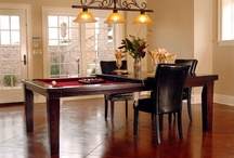 Carsten Diner / Dining Table that easily converts to a Pool Table!