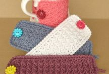 Crochet / Coffee cup cozu