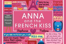 • ANNA AND THE FRENCH KISS SERIES •