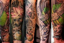tattoo colour / tattoo colour
