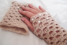 Crochet-Gloves/Wrist Warmers / by JenevaGriffin AStitchAboveTheRest