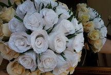 Crepe Paper Bouquet