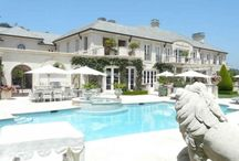 HOMES of the RICH and FAMOUS / Movie and TV houses. Celebrities homes and other prime real estate. / by Marisa Doan