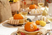 Let's Be Thankful / All things Thanksgiving and Fall besides Halloween. / by Hillary Whitmore