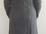 long knitted coats