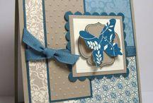 Cardzzz...Blue & Grey / by Cat o phile