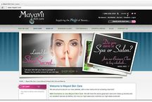 Mayavii / Supplying the magic of beauty, Mayavii Skin Care needed the guidance of U2R1's ability to supply the finesse of creating a strong identity, to design a sleek website, and to develop a strategy to help them reach out to both retailers and consumers.
