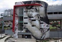 STREET ART / Graffiti Streetart Mural