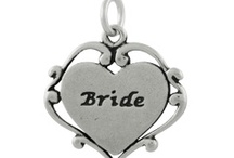 Bridal Party Charms / These lovely bridal charms can be used as earring components, bracelet dangles or necklace embellishments for jewelry that your family and friends will cherish as mementos of your special day. / by INM Crystal
