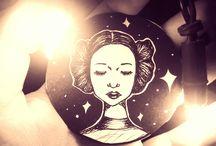 Alkotásaim / Saját rajzok, illusztrációk, festmények