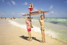 Barbie op het strand