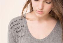 Camisetas y piedras